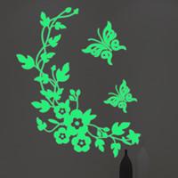 Dekorative Sticker Mode, PVC Kunststoff, Blume, Klebstoff & glänzend, 280x340mm, verkauft von PC