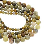 Natürliche verrückte Achat Perlen, Verrückter Achat, rund, verschiedene Größen vorhanden, verkauft per ca. 15 ZollInch Strang
