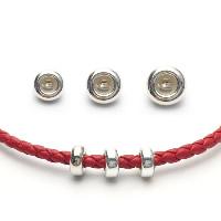 Spacer Perlen Schmuck, 925 Sterling Silber, Kreisring, verschiedene Größen vorhanden, verkauft von PC