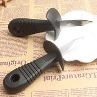 Austernmesser, Edelstahl, mit Kunststoff, originale Farbe, 55mm, verkauft von PC