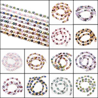 Barock kultivierten Süßwassersee Perlen, Natürliche kultivierte Süßwasserperlen, keine, 5.5-6mm, Bohrung:ca. 0.8mm, verkauft per ca. 15.5 ZollInch Strang