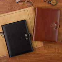 Notizbuch, PU Leder, mit Papier, Rechteck, keine, 170x230x30mm, verkauft von PC