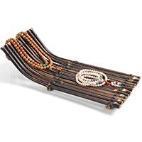 Bambus Armbandständer, 350x110x145mm, 10PC/Menge, verkauft von Menge