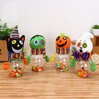 Halloween Dekoration, Vliesstoff, mit Kunststoff, verschiedene Stile für Wahl, 200x65mm, 2PCs/Tasche, verkauft von Tasche