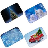 Polyester Rechteck, Weihnachtsschmuck & verschiedene Größen vorhanden & verschiedene Muster für Wahl, verkauft von PC