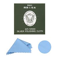 Polieren & amp; Putztuch, Baumwolle, blau, 78x78mm, 50PCs/Menge, verkauft von Menge