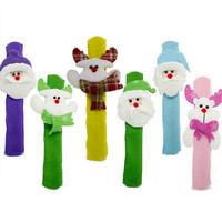 Weihnachtsarmband, Nichtgewebte Stoffe, Weihnachtsschmuck & LED, 30mm, Länge:ca. 8.6 ZollInch, verkauft von PC