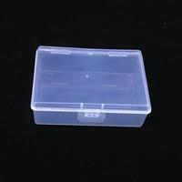 Schmuck Nagelkasten, Kunststoff, Rechteck, 95x65x32mm, verkauft von Box