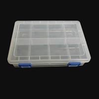 Schmuck Nagelkasten, Kunststoff, Rechteck, 205x140x45mm, verkauft von Box