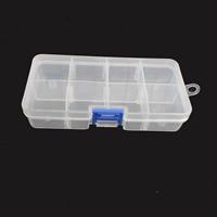 Schmuck Nagelkasten, Kunststoff, Rechteck, 32x32mm, verkauft von Box