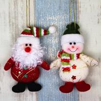 Baumwollsamt Weihnachtsschmuck & verschiedene Stile für Wahl, 80x150mm, verkauft von PC