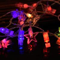 Kunststoff LED-Streifen, Stern, keine, 30mm, verkauft per ca. 3.2 m Strang
