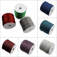 Seiltuchschnur, Stoff, mit Kunststoffspule, keine, 7x5mm, 20m/Spule, verkauft von Spule