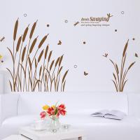 Wand-Sticker, PVC Kunststoff, Klebstoff & mit Brief Muster & wasserdicht, 600x900mm, verkauft von setzen