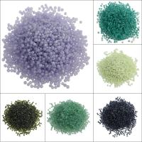 Gemischte Glas Rocailles, Glas-Rocailles, rund, 1.9x2mm, Bohrung:ca. 0.5mm, ca. 3000PC/Tasche, verkauft von Tasche