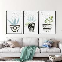 Dekoratives Bild, Polystyrol, mit Kiefer, Rechteck, Pinselführung, verschiedene Größen vorhanden & verschiedene Muster für Wahl, keine, verkauft von PC