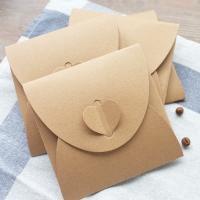 Kraftpapier Umschlag, 130x130mm, 10PCs/PC, verkauft von PC