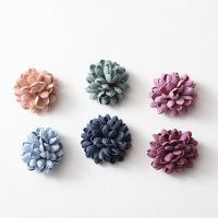 Haarschmuck DIY Ergebnisse, Stoff, Blume, keine, 40mm, 20PCs/Tasche, verkauft von Tasche