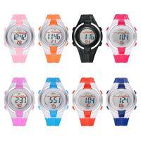 MINGRUI® Uhr, Kunststoff, mit Glas & Edelstahl, plattiert, für Kinder & LED, keine, 36x10mm, Länge:ca. 8 ZollInch, verkauft von PC