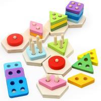 Lernen \u0026 Lernspielzeug, Buchenholz, mit Planke, Einbrennlack, für Kinder, frei von Nickel, Blei & Kadmium, 275x65x95mm, verkauft von Box