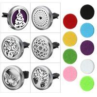 Edelstahl mit Baumwolle, flache Runde, verschiedene Muster für Wahl & hohl, 30x7mm, 38mm, 23mm, verkauft von PC