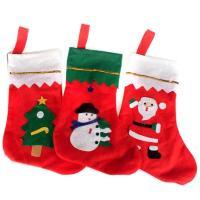 Weihnachtsferien Strümpfe Geschenk Socken, Nichtgewebte Stoffe, Weihnachtssocke, Weihnachtsschmuck, 250x350mm, verkauft von PC