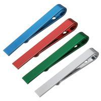 Krawatte Clip, Zinklegierung, plattiert, unisex & verschiedene Stile für Wahl, frei von Nickel, Blei & Kadmium, 5x43x5.50mm, verkauft von PC