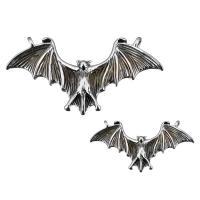 Edelstahl Tieranhänger, Fledermaus, verschiedene Größen vorhanden & Doppelloch & Schwärzen, verkauft von PC