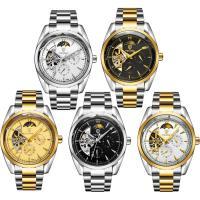 TEVISE® Uhrenkollektion, Edelstahl, mit Glas, plattiert, 30 m wasserdicht & stem-Winder & für den Menschen, keine, 41.5x41.5x15mm, 18mm, Länge:ca. 7 ZollInch, verkauft von PC