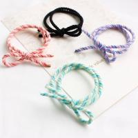 Elastisches Haarband, elastische Nylonschnur, keine, 60mm, 3PCs/Tasche, verkauft von Tasche