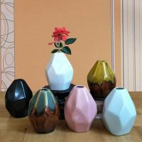 Porzellan Vase, verschiedene Muster für Wahl, 70x65x90mm, verkauft von PC