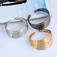 Eisen Armreif, plattiert, für Frau, keine, frei von Blei & Kadmium, 35mm, Innendurchmesser:ca. 65mm, Länge:ca. 7.5 ZollInch, verkauft von PC