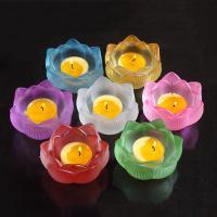 Lampwork Kerzenhalter, Lotos Seedpod, geschnitzt, keine, 80x43mm, verkauft von PC