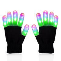 Handschuhe, Gestrick, Halloween Schmuck & LED, 230-250mm, verkauft von Paar