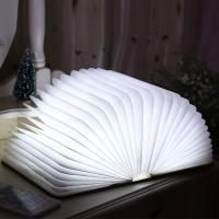 Nachtlampe, ABS Kunststoff, mit Acryl, Buch, mit Magnet & verschiedene Stile für Wahl & LED, 260x210x55mm, verkauft von PC