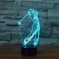 Nacht LED-Licht neben 3D-Lampe, ABS Kunststoff, mit Acryl, Cartoon, automatisch die Farbe wechseln & verschiedene Stile für Wahl, 114x87x242mm, verkauft von setzen