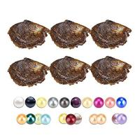 Oyster & Wish Pearl Kit Akoya Cultured Pearls Potato mixed colors 6-8mm Sold By Bag