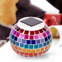 Nachtlampe, High Bor Silizium Glas, rund, Solar angetrieben, 130x105mm, verkauft von PC