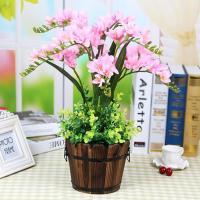 Kunststoff mit Seidenblume & Holz, keine, 400x500mm, verkauft von PC
