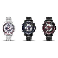JeiSo® Unisex Uhr, Edelstahl, mit Glas & Zinklegierung, plattiert, LED & glänzend, keine, 44x16mm, Länge:ca. 8.5 ZollInch, verkauft von PC