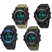 PANARS® Uhrenkollektion, Silikon, mit Kunststoff & Zinklegierung, plattiert, einstellbar & LED & für den Menschen & wasserdicht & glänzend, keine, 54.5x26.5x16mm, Länge:ca. 10 ZollInch, verkauft von PC