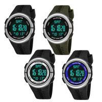 PANARS® Uhrenkollektion, Silikon, mit Kunststoff & Edelstahl, plattiert, einstellbar & LED & für den Menschen & wasserdicht & glänzend, keine, 47x29x16mm, Länge:ca. 10 ZollInch, verkauft von PC
