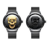 BIDEN® Uhrenkollektion, Edelstahl, mit Glas & Zinklegierung, plattiert, für den Menschen, keine, 48x14mm, Länge:ca. 10 ZollInch, verkauft von PC