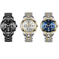 BIDEN® Uhrenkollektion, Edelstahl, mit Glas & Zinklegierung, plattiert, für den Menschen, keine, 39x10mm, Länge:ca. 9 ZollInch, verkauft von PC