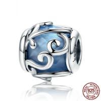 Thailand European Perlen, mit Kristall, ohne troll & facettierte & hohl, 12x11mm, Bohrung:ca. 4.5-5mm, verkauft von PC