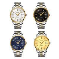 DOM® Uhrenkollektion, Edelstahl, mit Glas, plattiert, für den Menschen & mit Strass, keine, 40x11mm, Länge:ca. 9 ZollInch, verkauft von PC