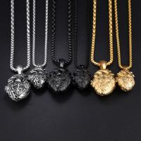 Titanstahl Pullover Halskette, plattiert, verschiedene Größen vorhanden & Kastenkette & für den Menschen, keine, verkauft per ca. 24 ZollInch Strang