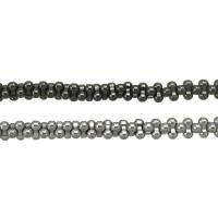 Nicht-magnetische Hämatit Perlen, Non- magnetische Hämatit, plattiert, keine, 3x6x3mm, Bohrung:ca. 0.5mm, Länge:ca. 16 ZollInch, 10SträngeStrang/Menge, ca. 177PCs/Strang, verkauft von Menge