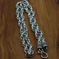 Thailand Kette Halskette, unterschiedliche Länge der Wahl & unisex & Seil-Kette, 9mm, verkauft von Strang