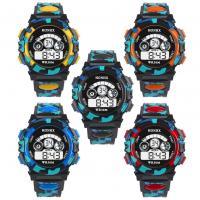honhx® Uhrenkollektion, TPU Kunststoff, mit Glas & Harz & Edelstahl, unisex & für Kinder & einstellbar & LED & glänzend, keine, 44x17mm, Länge:ca. 10 ZollInch, verkauft von PC